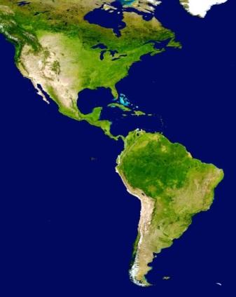 160128 - mapa mundi America