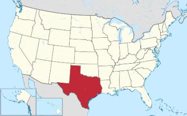 160203 - Mapa Eua Texas